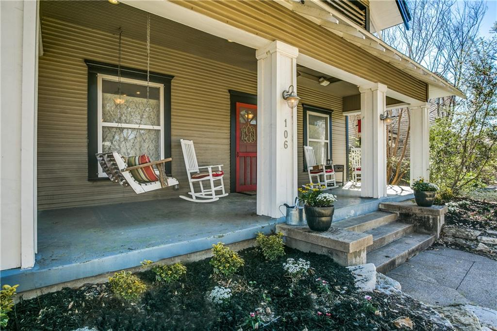 Sold Property | 106 N Clinton Avenue Dallas, Texas 75208 0